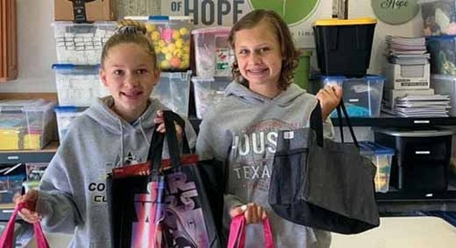 Building Community Partnership: Chemo Bags of Hope