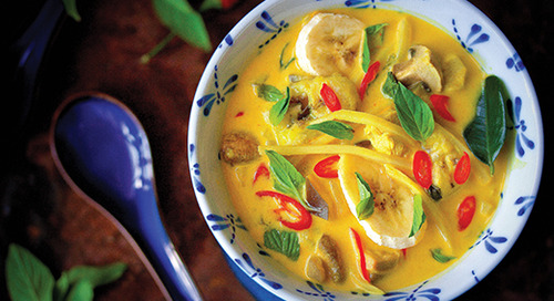 Winter recipe: Coconut curry recipe