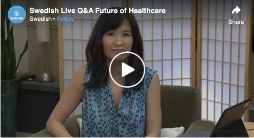 Facebook Live: Q&A – Future of Healthcare