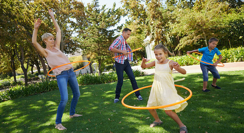Family fitness at home