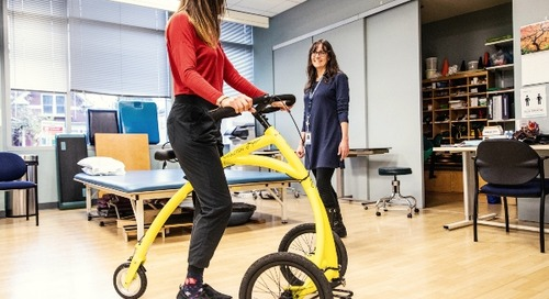 A new ride for rehabilitation