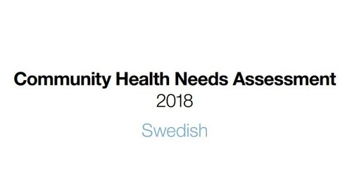 Swedish releases 2018 Community Health Needs Assessment