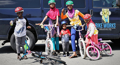 Building healthy, thriving communities through cycling
