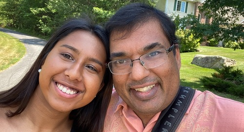After massive heart attack, ECMO saved Vivek's life