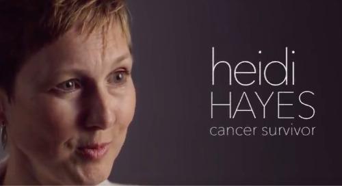 Breast Cancer Survivor Heidi Hayes