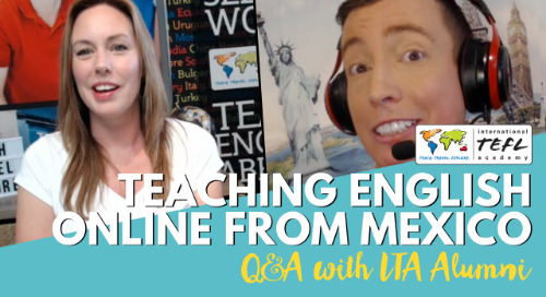 Teaching English Online from Mexico - Alumni Q&A with Robert Blackie