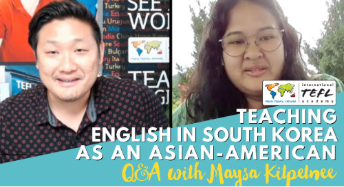 Teaching English in South Korea as an Asian-American - Alumni Q&A with Maysa Kitpetnee