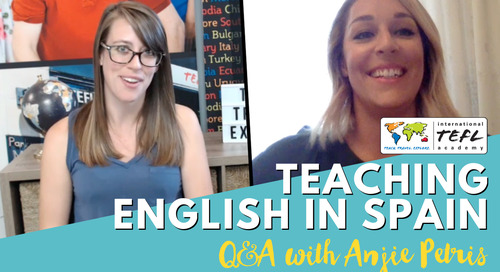 Teaching English in Logroño, Spain on the Auxiliares Program - Alumni Q&A With Anjie Petris