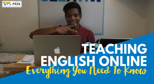 Teaching English Online: Everything You Need to Know - Webcast [Aug 2019]