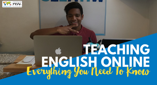 Teaching English Online: Everything You Need to Know - Webcast [Aug 2020]