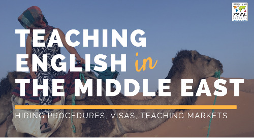 Teaching English in The Middle East 2019 [Webcast]
