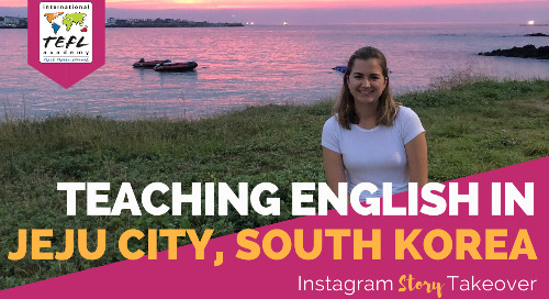 Day in the Life Teaching English in Jeju City, South Korea with Claire Hughes