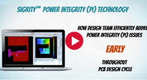 Sigrity Tech Tip: How PCB Designers Can Find and Fix Power Integrity Problems