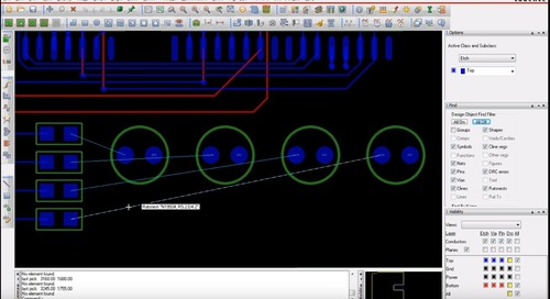 How the Total Etch Length Tool Makes Routing Differential Pairs Easier