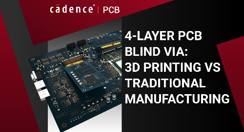 4-Layer PCB Blind Via: 3D Printing vs. Traditional Manufacturing
