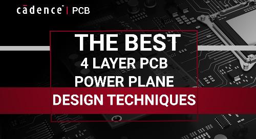 The Best 4 Layer PCB Power Plane Design Techniques