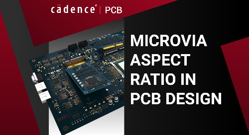 Microvia Aspect Ratio in PCB Design