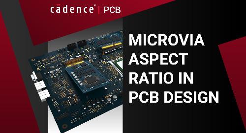 Microvia Aspect Ratio in PCB Design