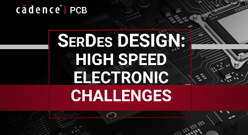 SerDes Design: High Speed Electronic Challenges