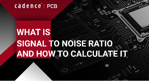 What is Signal to Noise Ratio and How to calculate it?