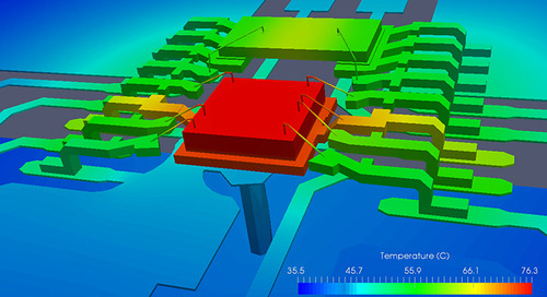 Using a Thermal FEA Solver for Heat Management in Your PCB