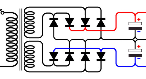 The Layout of a Dual Power Supply: Functional Characteristics