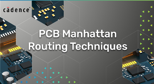 PCB Manhattan Routing Techniques
