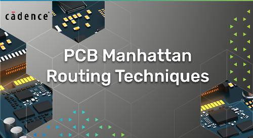 PCB Manhattan Routing Techniques