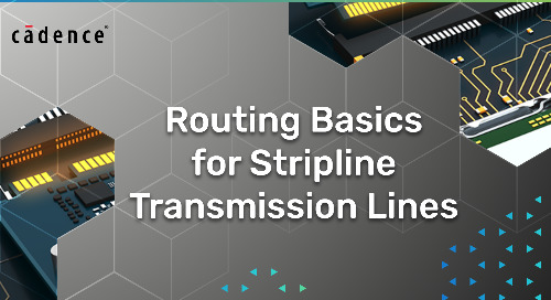 Routing Basics for Stripline Transmission Lines