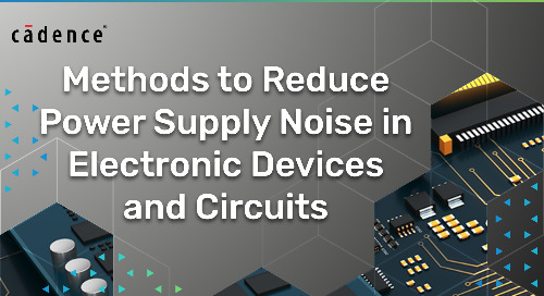 Methods to Reduce Power Supply Noise in Electronic Devices and Circuits