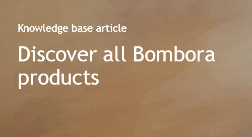 Discover all Bombora products