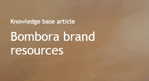Bombora brand and logo resources