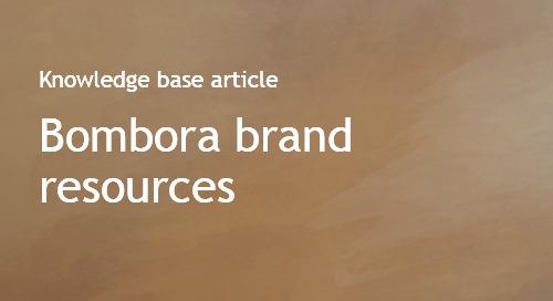 Bombora brand and logo resources