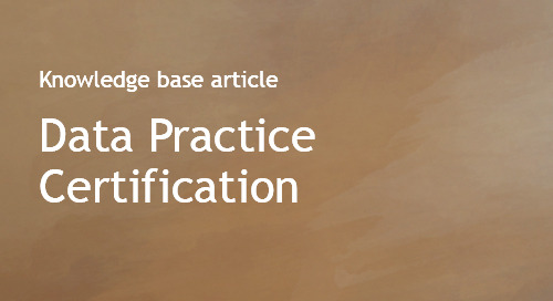 Data Practice Certification
