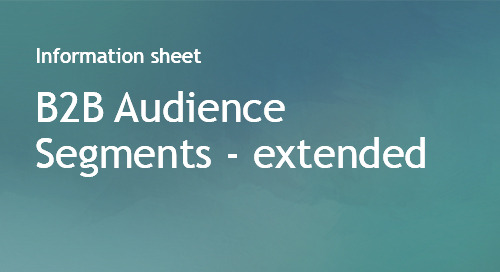 B2B Audience Segments (extended)
