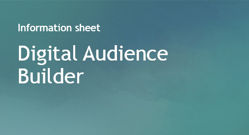 Digital Audience Builder - Info Sheet