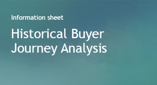 Historical Buyer Journey Analysis - Info Sheet