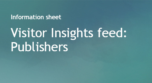 Visitor Insights Feed for Publishers