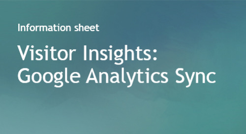 Visitor Insights - Google Analytics Sync