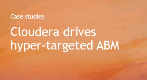Just Media and Cloudera ABM - case study