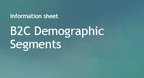 B2C Demographic Segments - Bombora