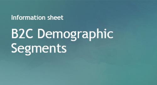 B2C Demographic Segments - Bombora