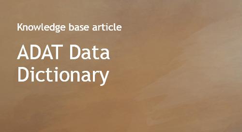 AllDomainsAllTopics - ADAT - Data Dictionary - Bombora