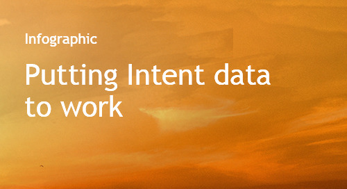Putting Intent data to work