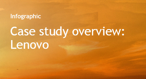 Lenovo case study overview - Bombora