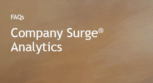 Company Surge® FAQs
