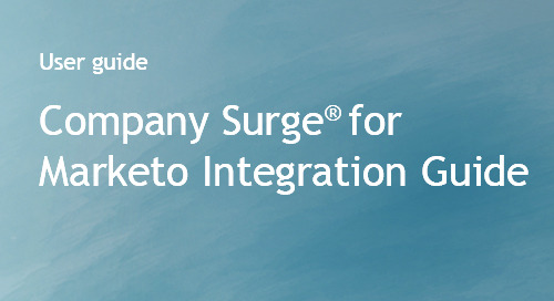 Company Surge® for Marketo Integration Guide