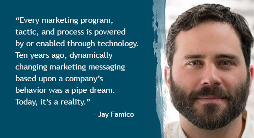 Today's CMO and the brand-tech balancing act with Jay Famico [Inside Intent podcast]