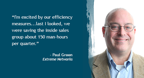 Harnessing Intent data to build pipeline and reduce churn potential - Part 2 - Paul Green, Extreme Networks [Inside Intent podcast]