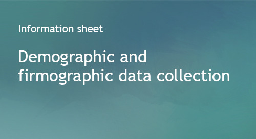 Sourcing Bombora's demographic and firmographic data